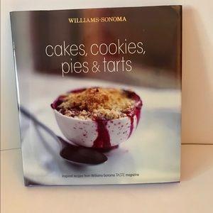Williams-Sonoma Cakes Cookies Pies, Tarts Cookbook
